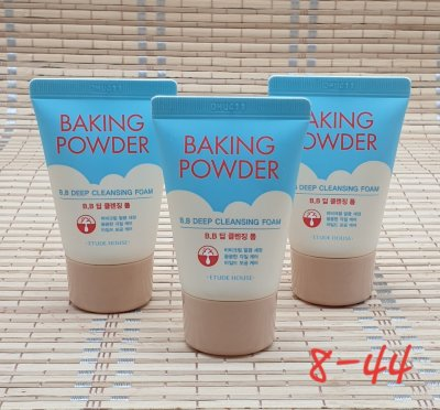 Пенка для умывания baking powder bb deep cleansing foam 30 мл, корея оригинал 1 шт.