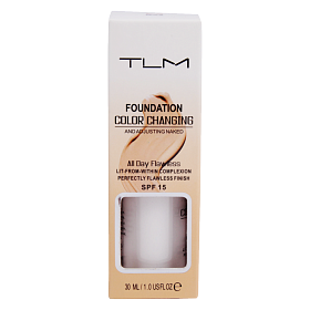 Тональная основа TLM Foundation color Changing 30ML
